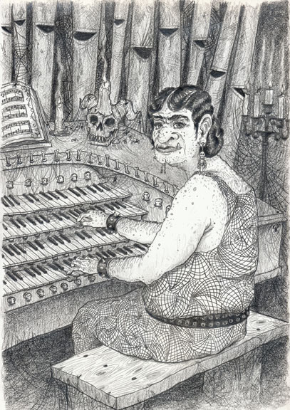 Orcs, Ogres, and an Organist