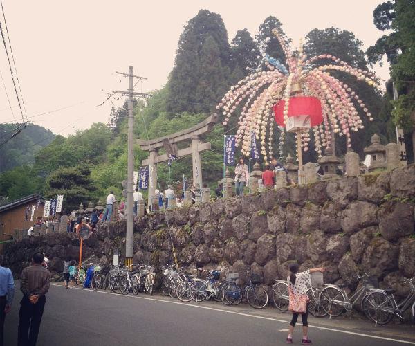 Iwamoto Shrine entrance