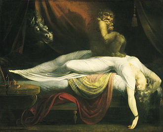 Johann Heinrich Füssli - The Nightmare