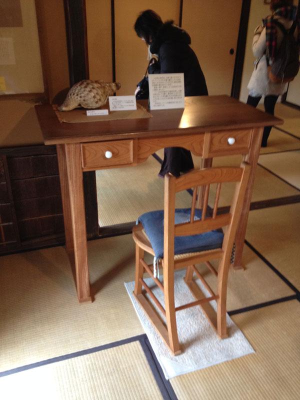 Hearn's desk