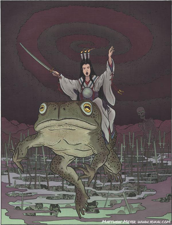 Takiyasha-hime / 滝夜叉姫 / たきやしゃひめ