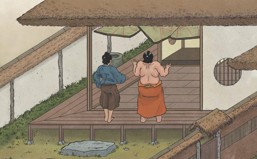 A-Yokai-A-Day: Ino Mononoke Roku, Day 18