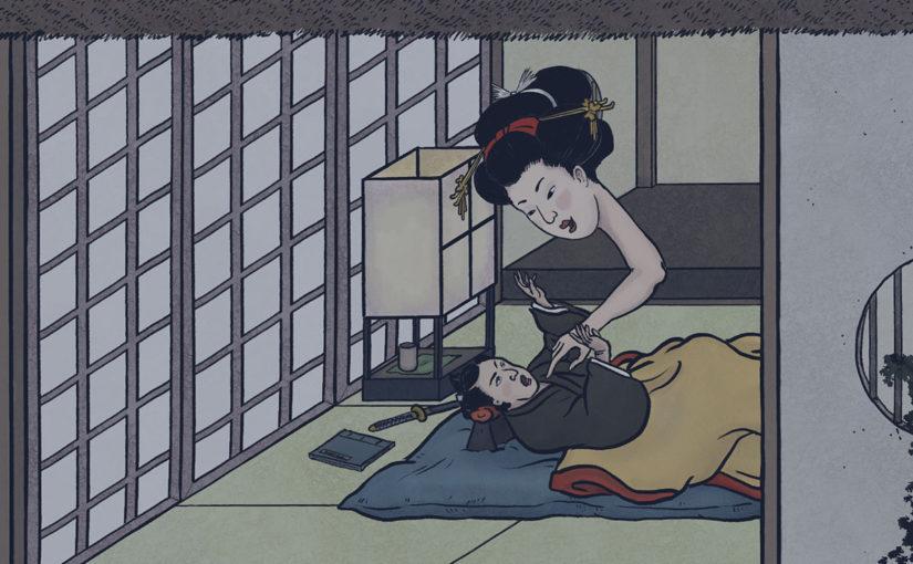A-Yokai-A-Day: Ino Mononoke Roku, Day 26