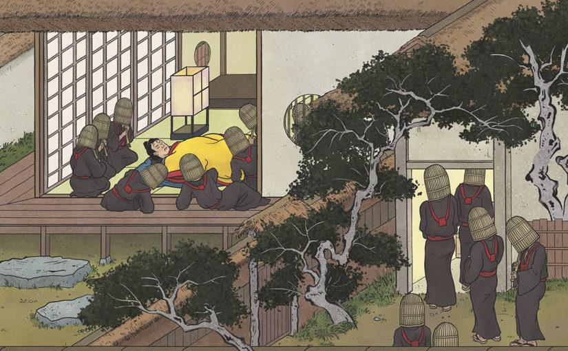 A-Yokai-A-Day: Ino Mononoke Roku, Day 28