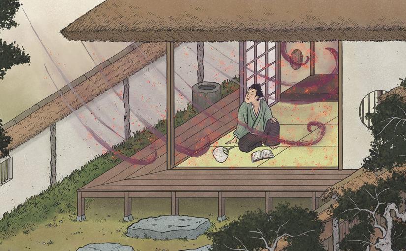 A-Yokai-A-Day: Ino Mononoke Roku, Day 29