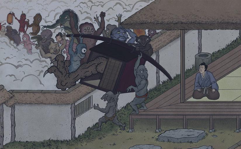 A-Yokai-A-Day: Ino Mononoke Roku, Day 30