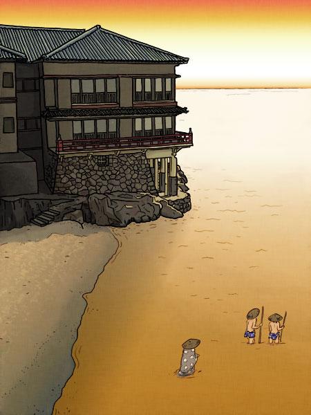 Ryokan at Mikuni (version 2)