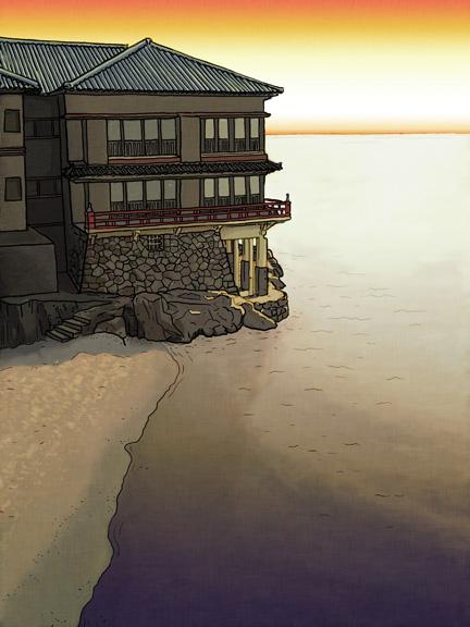Ryokan at Mikuni